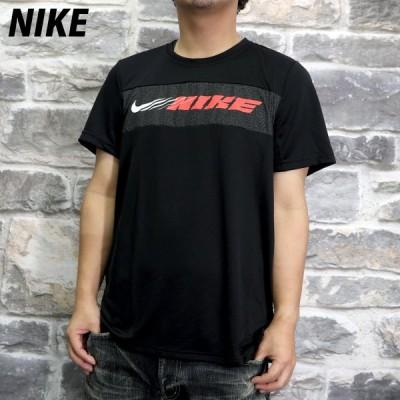 ナイキ Tシャツ メンズ 上 NIKE 吸汗速乾 ドライ 薄手 半袖 CZ1497 BLK 送料無料 新作