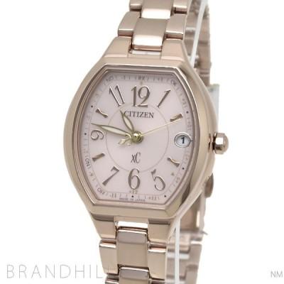 シチズン クロスシーXC 腕時計 レディース エコドライブ電波 ハッピーフライト ワールドタイム サクラピンク ES9365-54W CITIZEN 未使用品
