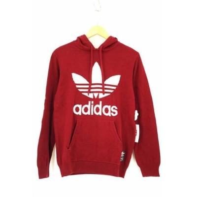 アディダスオリジナルス adidas Originals ニット・セーター メンズ サイズ表記無 KNIT TREFOIL HOODIE ニット プル