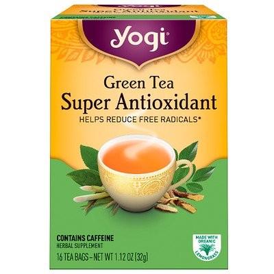 緑茶スーパー抗酸化剤(Green Tea Super Antioxidant), 16ティーバッグ, 1.12オンス(32 g)