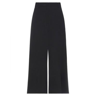 BURBERRY パンツ ブラック 10 シルク 88% / ウール 12% パンツ
