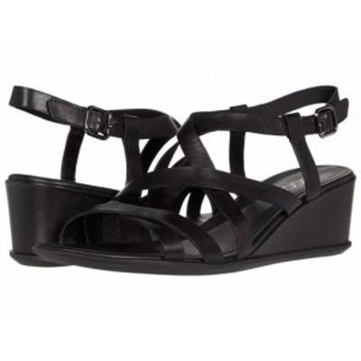 ECCO エコー レディース 女性用 シューズ 靴 ヒール Shape 35 Wedge Sandal Black Cow Leather【送料無料】