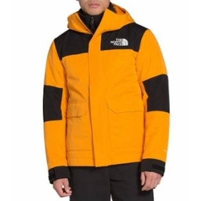 ノースフェイス メンズ ジャケット・ブルゾン アウター Cypress Insulated Long-Sleeve Color Block Jacket Summit Gold