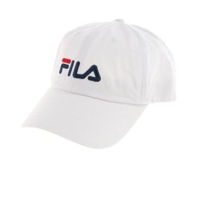 フィラ(FILA)帽子 メンズ キャップ ローキャップ 185713520 WHT 日よけ