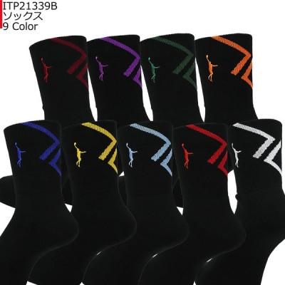 「1点限りネコポス対応」インザペイント IN THE PAINT ソックス ITP21339B バスケ スポーツ 靴下 バッソク
