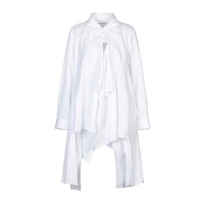 コム デ ギャルソン・シャツ COMME des GARÇONS シャツ ホワイト XS コットン 100% シャツ