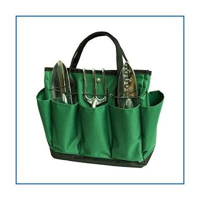 <新品>EBDcom Garden Tool Storage Bag Oxford Bag with 8 Pockets Gardening Tote Garden Tool Bag for Man and Women (1pcs)<並行輸入