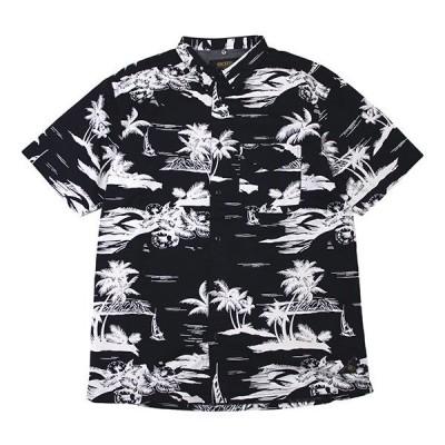 10DEEP シャツ 10ディープ Island Life Camp S/S Shirt半袖シャツ ブラック
