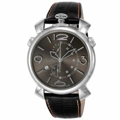 ガガミラノ メンズ 腕時計/GaGa MILANO クロノグラフ 腕時計 送料無料/込 父の日ギフト