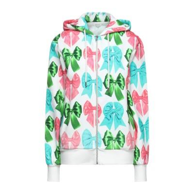 マヌーシュ MANOUSH スウェットシャツ ホワイト XS コットン 100% スウェットシャツ