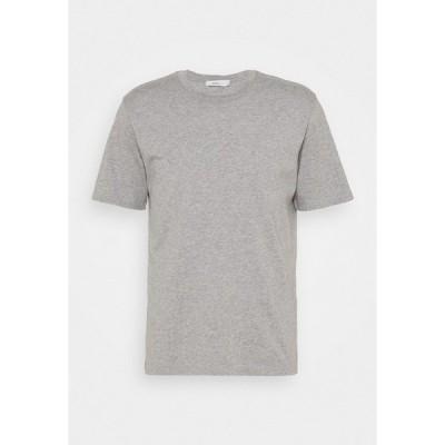 クローズド Tシャツ メンズ トップス ROUND NECK  - Basic T-shirt - light grey melange