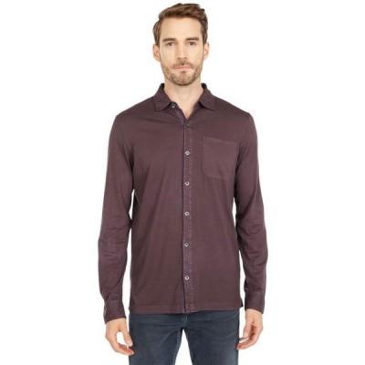 モドオードック メンズ シャツ トップス Santa Monica Long Sleeve Button Front Shirt
