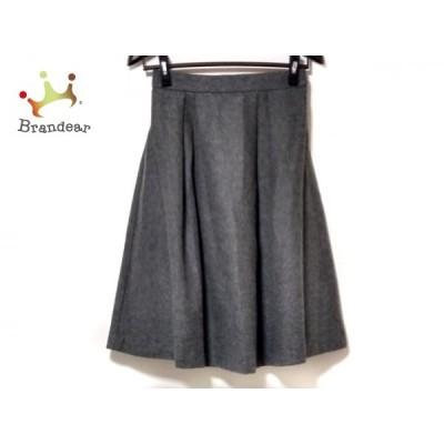 グラジック le glazik スカート サイズ36 S レディース 美品 グレー   スペシャル特価 20201022