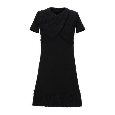BAD SPIRIT ミニワンピース&ドレス ブラック XS コットン 100% ミニワンピース&ドレス