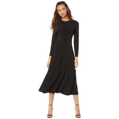 ユニセックス スカート ドレス Long Sleeve Flared Dress