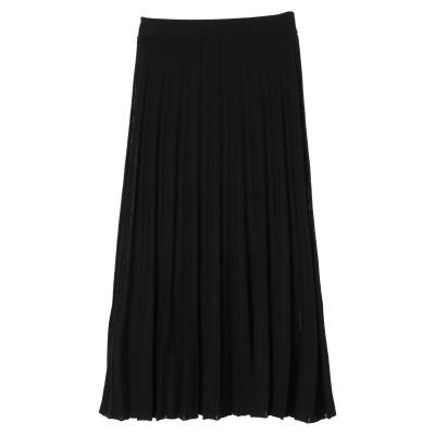 プリーツニットスカート