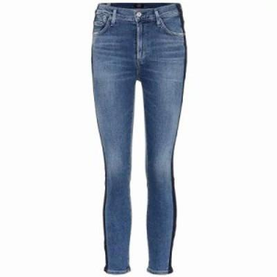 シチズン ジーンズ・デニム Rocket Crop skinny jeans Illusion