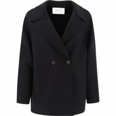 ハリスワーフロンドン Harris Wharf London レディース コート ドロップショルダー アウター Dropped Shoulder Coat Black