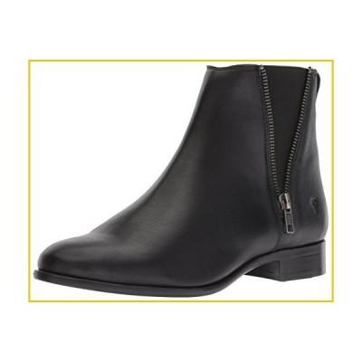 Frye Women's Carly Zip Chelsea Boot, Black Full Grain Leather, 7.5 M US
