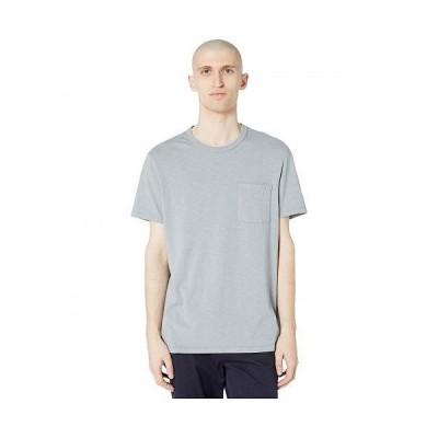 J.Crew メンズ 男性用 ファッション Tシャツ Garment-Dyed Slub Cotton Crewneck T-Shirt - Slate Blue