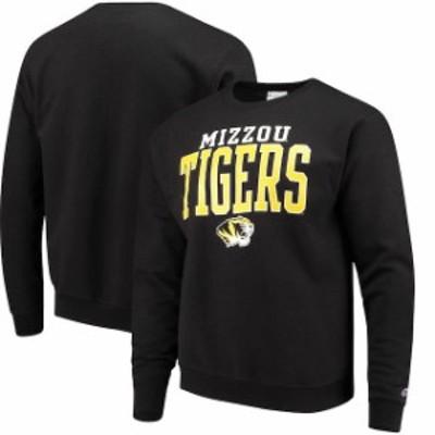 Champion チャンピオン スポーツ用品  Champion Missouri Tigers Black Core Powerblend Crewneck Sweatshirt