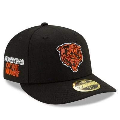 ユニセックス スポーツリーグ フットボール Chicago Bears New Era 2020 NFL Draft Official Draftee Low Profile 59FIFTY Fitted Hat - Bl