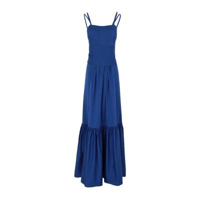 アレクシス ALEXIS ロングワンピース&ドレス ブルー XS コットン 96% / ポリウレタン 4% ロングワンピース&ドレス