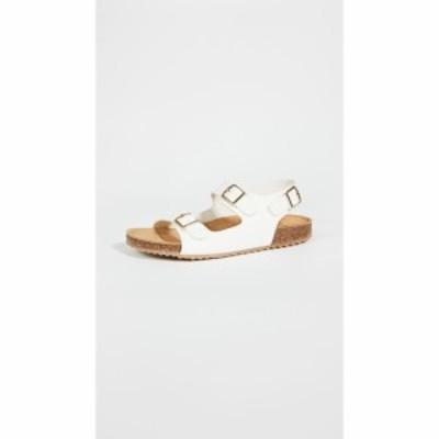 マンサーガブリエル Mansur Gavriel レディース サンダル・ミュール シューズ・靴 Cloud Sandals White