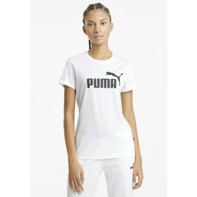 プーマ Tシャツ レディース トップス Print T-shirt - white