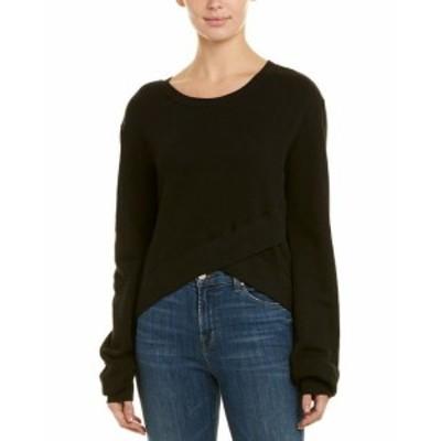 Pam & Gela パム & ゲラ ファッション 衣類 Pam & Gela Crossover Sweatshirt