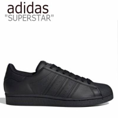 アディダス スーパースター スニーカー adidas メンズ レディース SUPERSTAR スーパー スター BLACK ブラック EG4957 シューズ