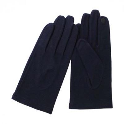 手袋 MEN メンズ 紳士用 抗菌・抗ウイルスグローブ 秋冬用 BA70018M9 NV ネイビー アクリル【クリックポスト】メール便【送料無料】