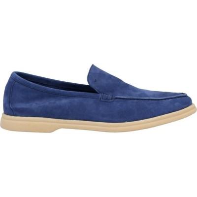 アンドレア ヴェントゥーラ ANDREA VENTURA FIRENZE メンズ ローファー シューズ・靴 loafers Blue