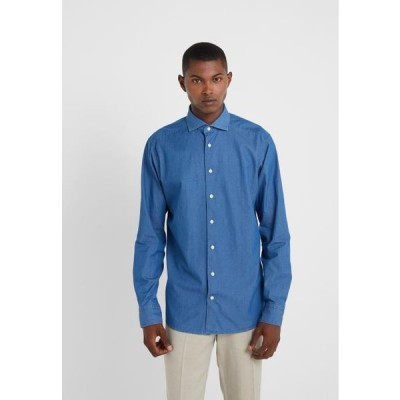 メンズ ファッション Shirt - blue denim