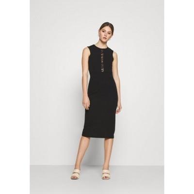 ヴァル ジー ワンピース レディース トップス SAVANNAH MIDI DRESS - Cocktail dress / Party dress - black