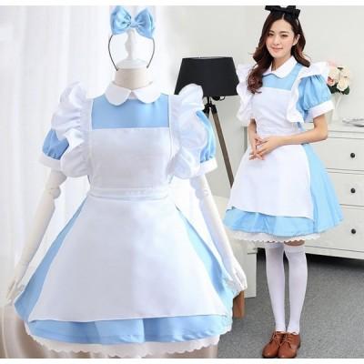 ハロウィン halloween コスプレ 衣装 不思議の国のアリ アリス 大人 コスプレ