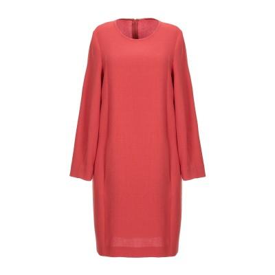 ANTONELLI ミニワンピース&ドレス レンガ 38 バージンウール 100% ミニワンピース&ドレス