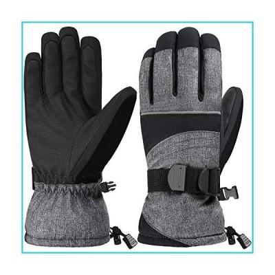 Andake スキーグローブ 女性用 レディース スキー手袋 3M断熱防水通気 冬 暖かい手袋【並行輸入品】