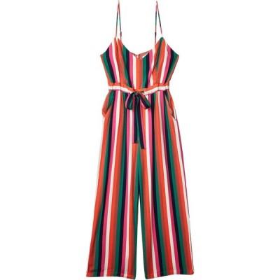 スティーブ マデン BB Dakota x Steve Madden レディース オールインワン ジャンプスーツ Flying Colors Printed Heavy Rayon Jumpsuit Multi Stripe