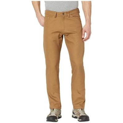 フェールラーベン メンズ デニムパンツ ボトムス Greenland Canvas Jeans in Dark Sand