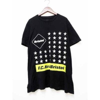 【中古】エフシーレアルブリストル F.C.Real Bristol FCRB 17SS 37 STAR TEE スター プリント Tシャツ 半袖 S FCRB-170053 【ブランド古着ベクトル】 201004 ★