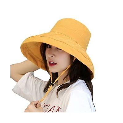 帽子 UVカット ハット レディース 紫外線対策 日焼け防止熱中症予防 おしゃれ 小顔効果抜群 折りたたみ サイズ調節可 旅行 自転車 農作