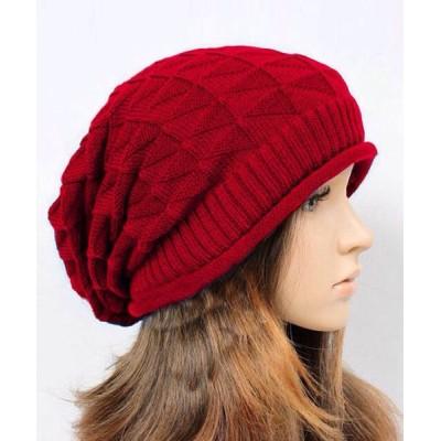 TeddyShop / レディース シンプルニット帽 WOMEN 帽子 > ニットキャップ/ビーニー