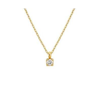 4℃(ヨンドシー) ダイヤモンドK10イエローゴールド(YG) ネックレス 111726123012