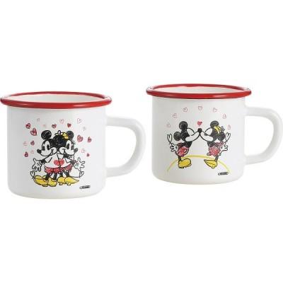 ホーロー マグカップ ペア 「ミッキー&ミニー スイートハート」 MM-307