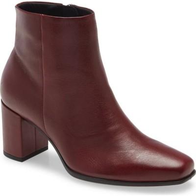 エコー ECCO レディース ブーツ スクエアトゥ シューズ・靴 Shape 60 Square Toe Bootie Syrah Leather