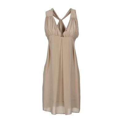 ハイケ HACHE ミニワンピース&ドレス ベージュ 44 シルク 100% ミニワンピース&ドレス