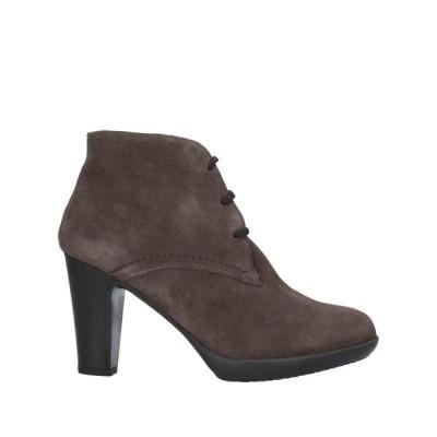 ANTICA CUOIERIA ショートブーツ ファッション  レディースファッション  レディースシューズ  ブーツ  その他ブーツ 鉛色