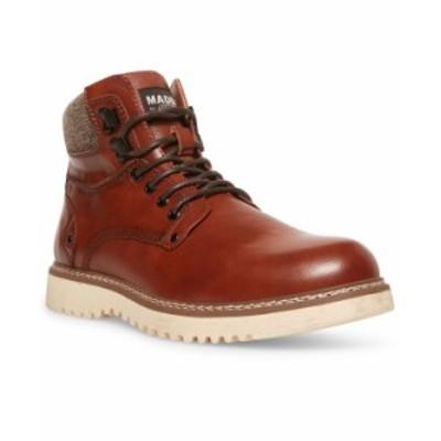 スティーブ マデン メンズ ブーツ・レインブーツ シューズ Men's M-Damily Boots Cognac