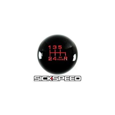 送料無料 Black/Red Bye Felicia Shift Knob For 6 Speed Short Throw Shifter 10 X